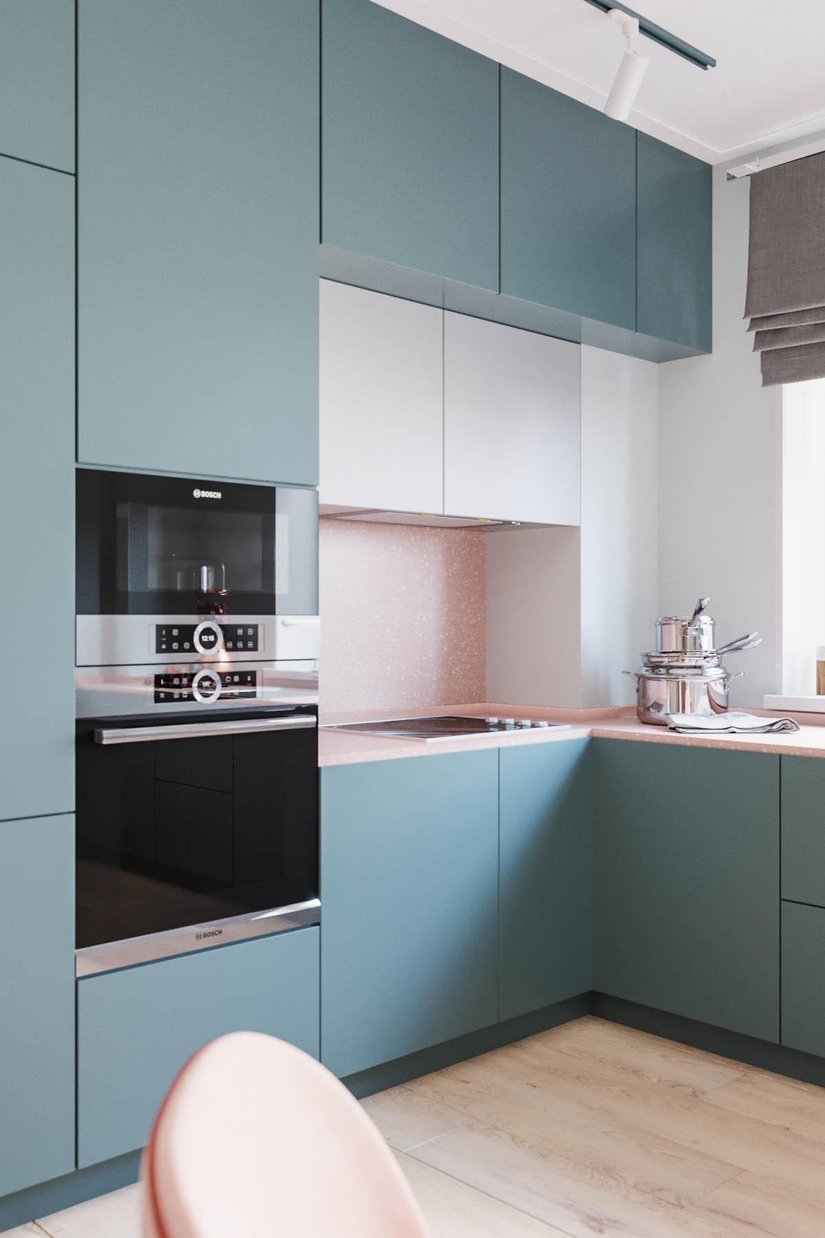 бытовая техника в кухне, дизайн