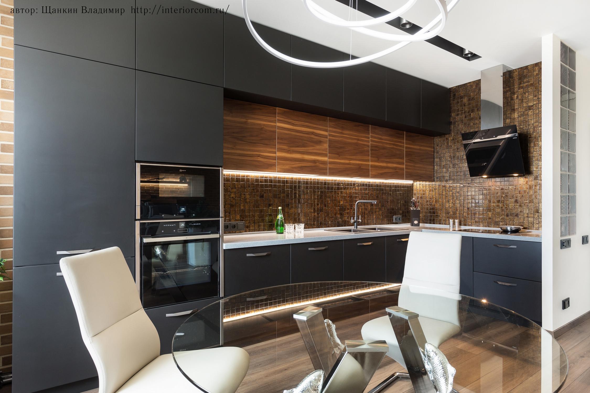 электрика в интерьере кухни
