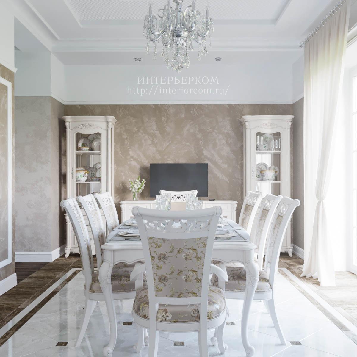 дизайн частного дома в стиле классика