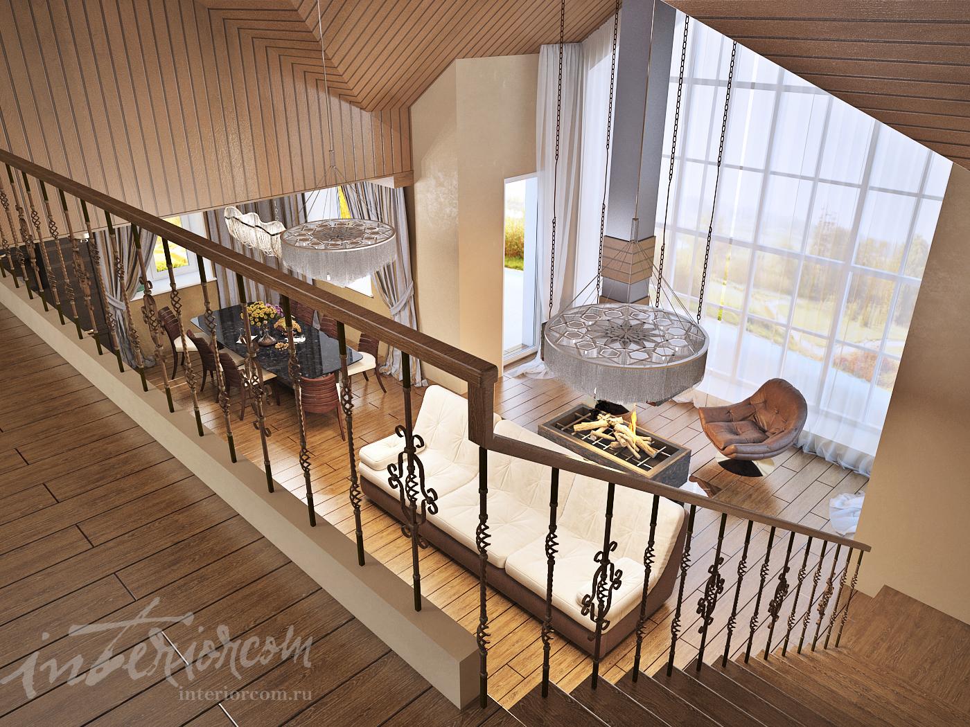 панорамные окна в частном доме, дизайн