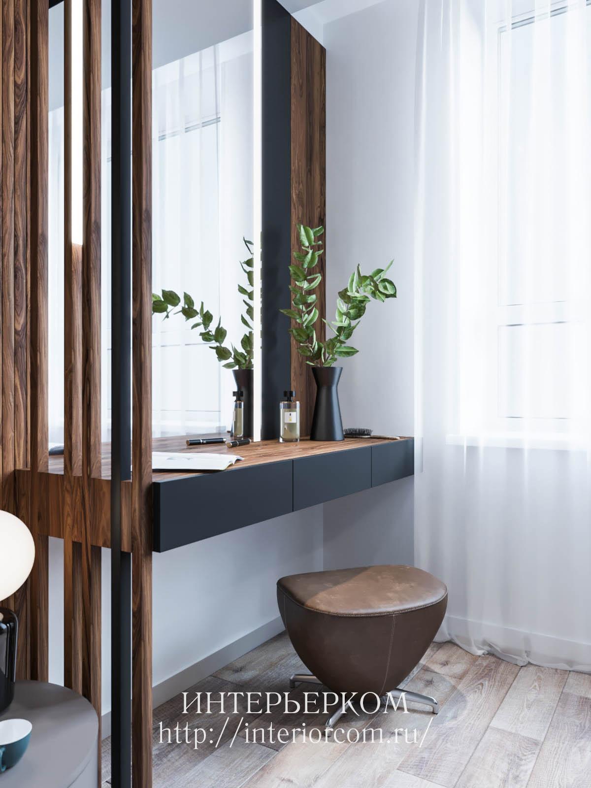 туалетный столик в интерьере
