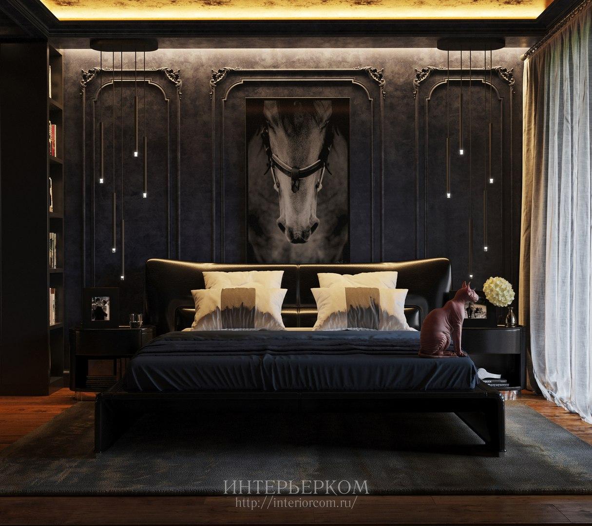 интерьер дома в классичсеском стиле