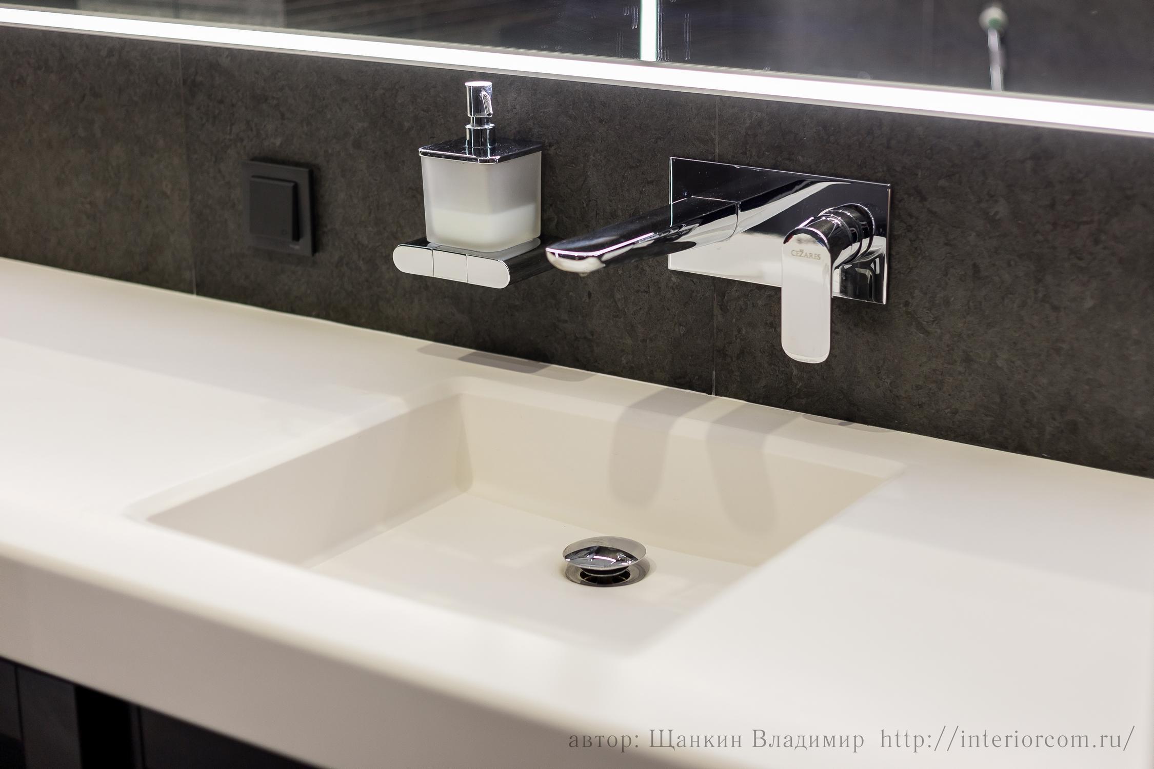 розетки и выключатели в ванной