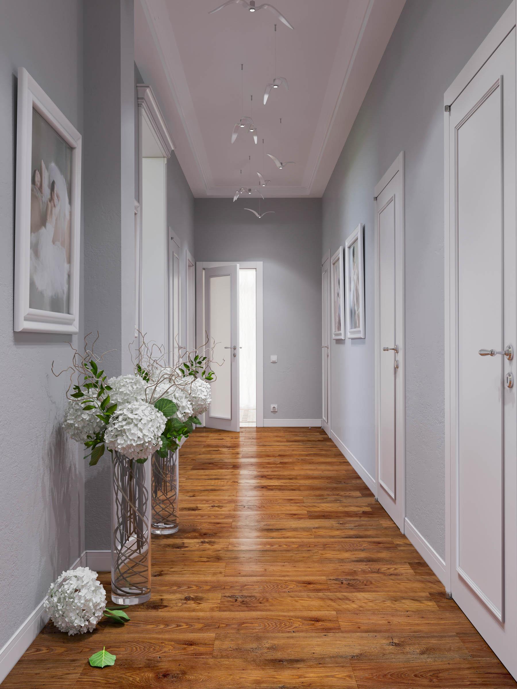 двери в нейтральном цвете