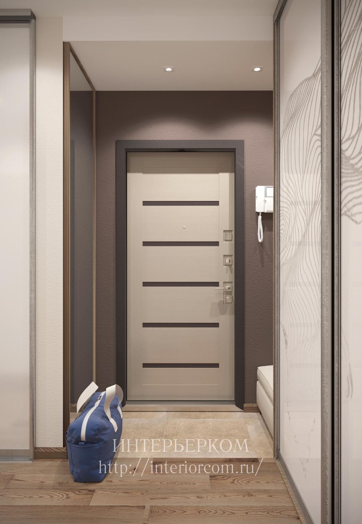 дизайн прихожей и коридора фото из портфолио студии интерьерком