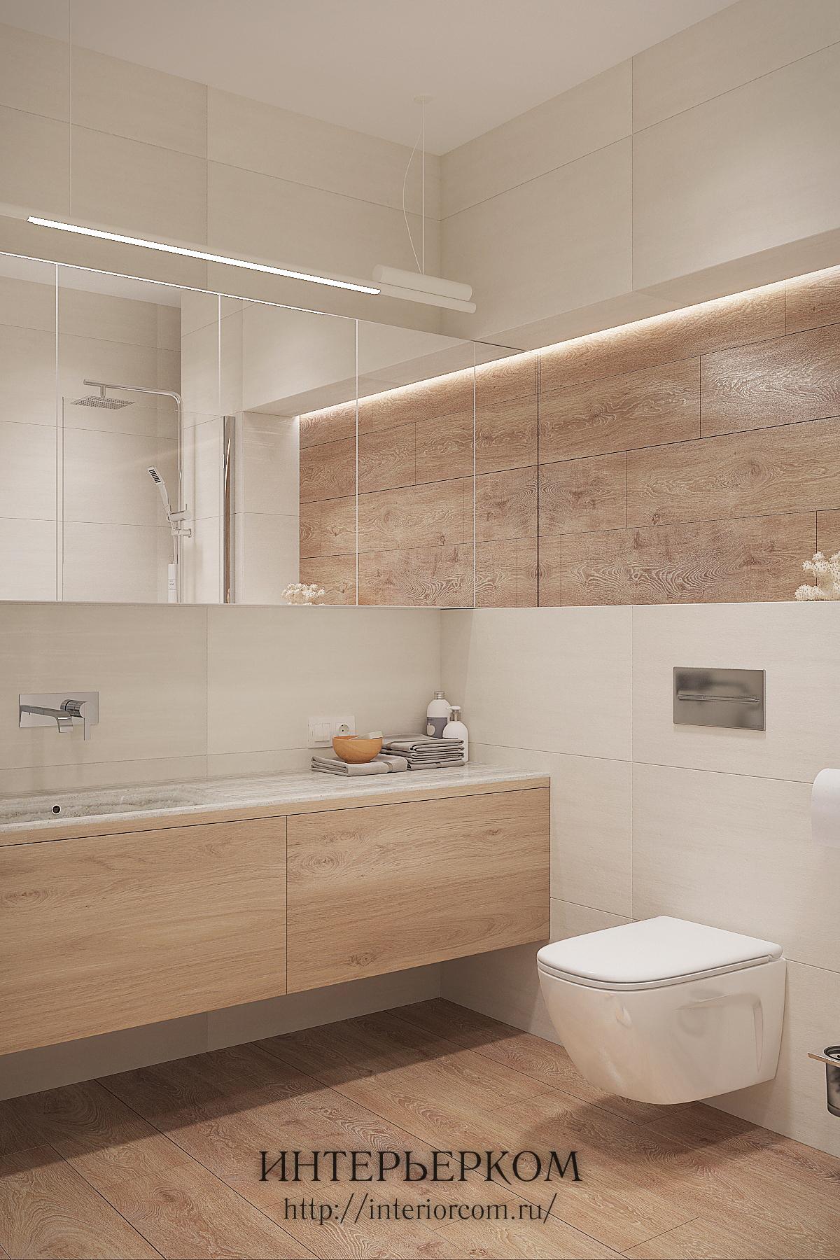 вариант хранения в ванной