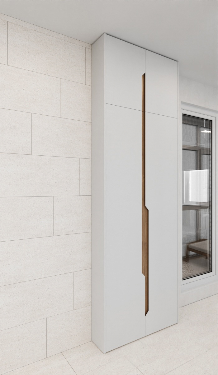 балкон отделка стены