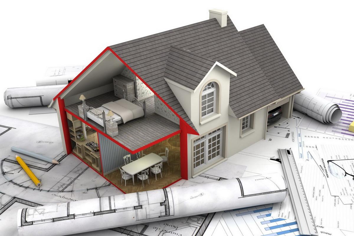 планировка дома и дизайн-проект